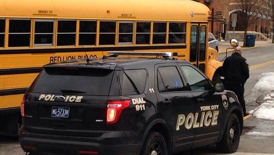 The driver of a school bus is on administrative leave following a fatal crash involving a pedestrian.