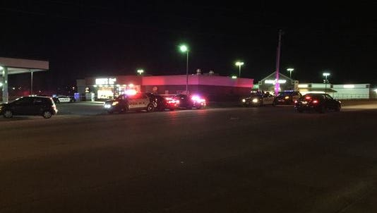 Officials say a Springfield police officer suffered moderate injuries in a hit-and-run crash Saturday.
