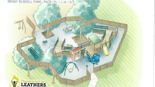 Benny Russell Park in Pace will close from February 29 to March 4 while a new all-inclusive addition is constructed, making it the first of its kind in Northwest Florida.