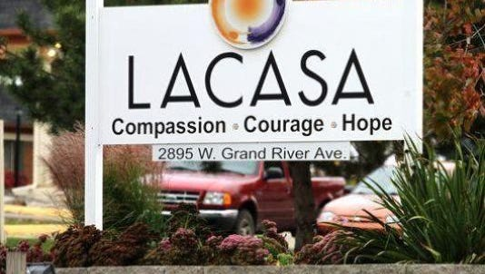 "LACASA Center plans to open a charity resale boutique in January called ""Shop with Dignity Donation Drive."""