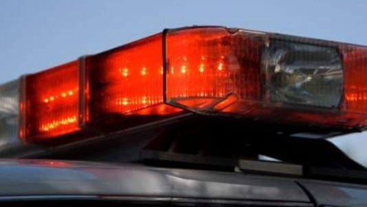 A 28-year-old Wrightstown man was hurt in a two-vehicle crash Wednesday afternoon.