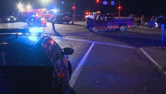 U.S. Highway 10 was closed for several hours after a fatal collision in July.