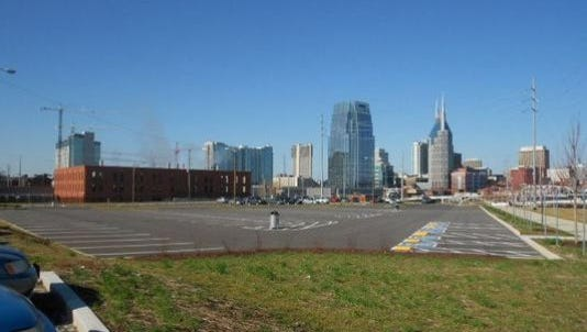 MDHA is working toward creating roughly 130 parking spots on land at 400 First Ave. S.