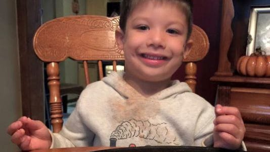Brendan Creato, 3, was found dead after a search by emergency responders and community members in October 2015.