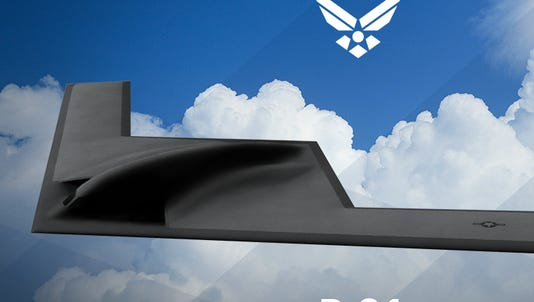 The Air Force is seeking name suggestions for its new B-21 bomber.