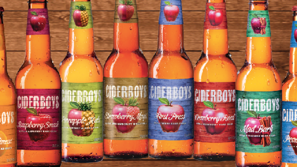 Ciderboys, from the Stevens Point Brewery.