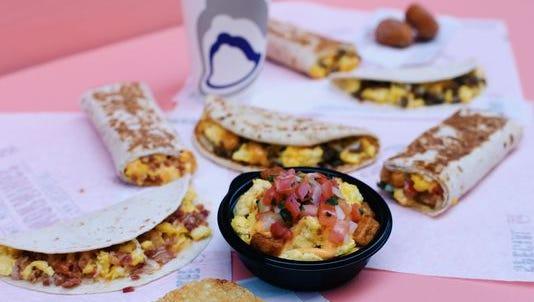 Taco Bell has started a $1 breakfast menu.