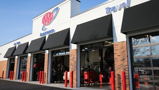 The AAA Car Care, Insurance and Travel Center in Dover features car repair and other services. The auto club's retail locations are collecting Toys for Tots.