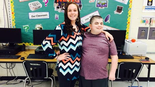 A promposal for a special needs teen in Brockport, New York, started with a 48-card trail of compliments and ended with an invitation to prom.