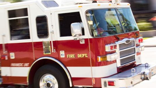 Several departments in Clark and Floyd counties were working two fires Tuesday afternoon.
