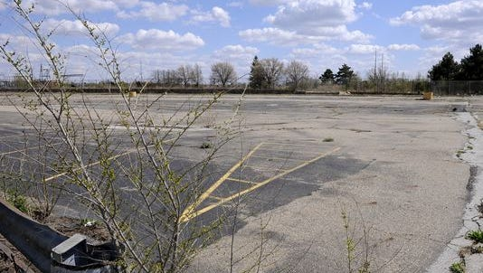 The former site of the Lansing Craft Centre plant in Lansing Township, one of four unused GM sites on the market in Greater Lansing. The properties returned to the market Monday after previously being spoken for by an unnamed develeoper.