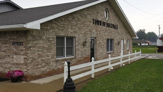 Daleville's Town Hall.