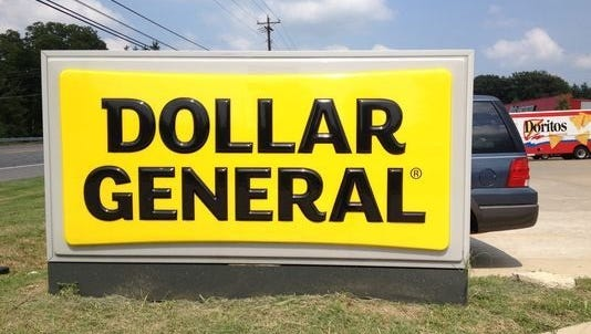 Dollar General plans to open 1,900 stores over the next two years.