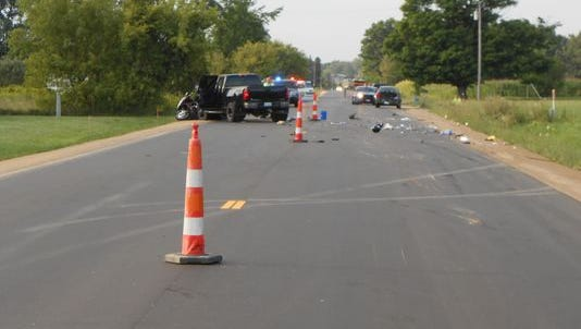 Michigan State Police investigated a Marion Township crash Aug. 18 that killed 51-year-old Lawrence Pettis.