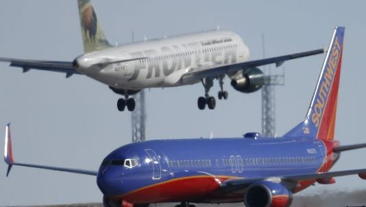 Major airlines such as Delta or Southwest are willing to pay handsomely for a pilot with more than 1,500 flying hours and 10 or more years of flying experience. That's created retention worries for the Air Force.