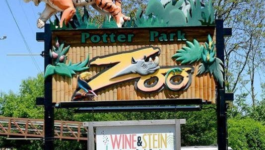 Potter Park Zoo will officially open its new moose exhibit at today.