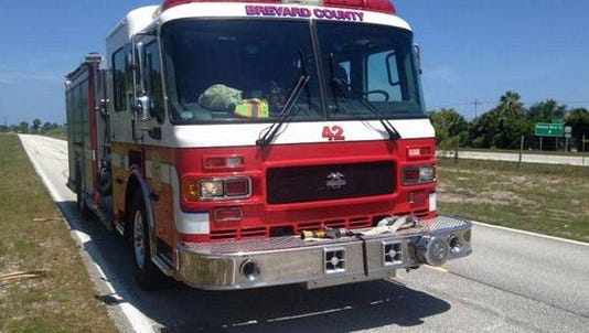 Brevard County Fire Rescue engine