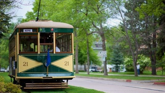 The trolley lends something extra special to downtown, providing a handy way to travel and a fun landmark.