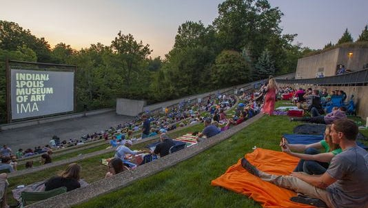 The Indianapolis Museum of Art's 2016 Summer Nights film series celebrates its 40th anniversary this year with pre-show activities, double-header films and more.
