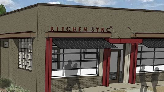 Kitchen Sync, Greenville's first certified green restaurant will open later in the spring.