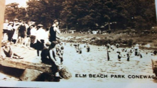 You'll find Elm Beach photos around. But Cold Springs Park photos, across the Conewago Creek from Elm Beach, are not as common.