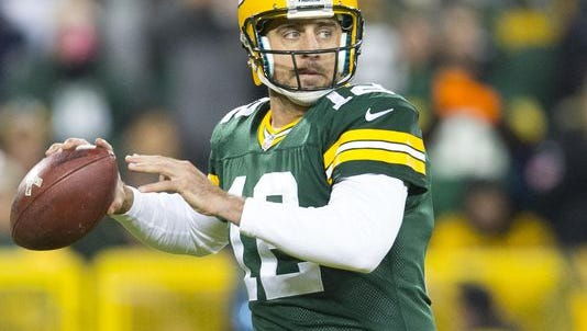 Aaron Rodgers and the Green Bay Packers will play the Eagles at Lincoln Financial Field on Monday night, Nov. 28.
