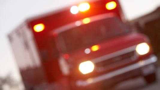 A Medford resident died Friday in a two-vehicle accident on Hawkin Road.