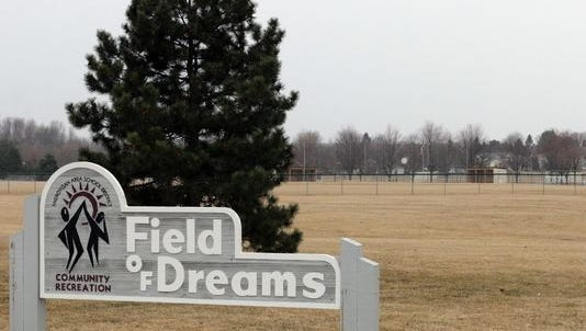 The Field of Dreams on North Taylor Drive.