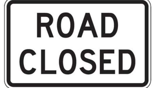 Four road closures in Alexandria are set for next week as various repairs are scheduled, according to the city.