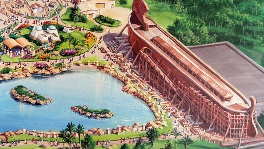 A rendering of the Ark Encounter