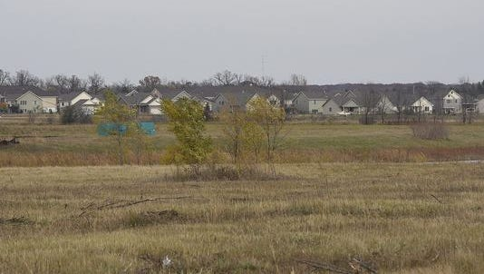 The proposed site for a new community center in Sartell.