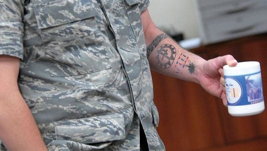The Air Force is reviewing its tattoo policy and airmen have plenty to say before decisions are made.