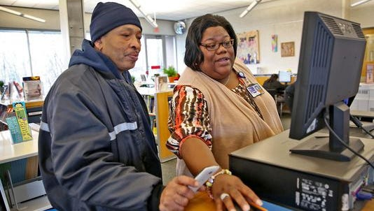 East 38th Street Library's Community Branch Manager Shanika Heyward is a beacon of hope to the community but gains so much from the library visitors, too.