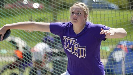 Hendersonville graduate Hailey Cook is a junior for the Western Carolina University track team.