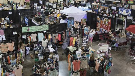 The What Women Want Expo provides local women access to vendors and entertainment Friday, May 29, 2015.