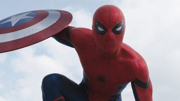 """Spider-Man makes his first appearance in the Marvel Cinematic Universe in """"Captain America: Civil War."""""""