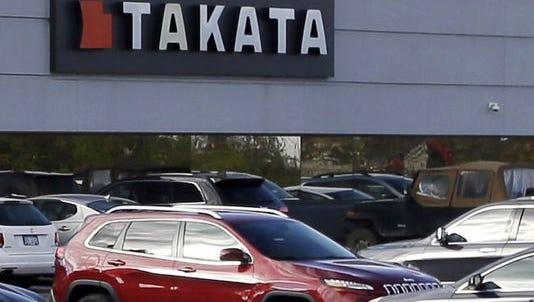 North American headquarters of Takata in Auburn Hills, Mich.
