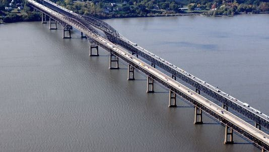 The Newburgh-Beacon Bridge.
