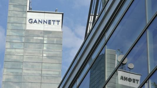 Gannett headquarters building in McLean, Virginia.