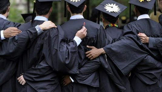 Fewer than 50% of New Jersey college students graduate in four years or less.