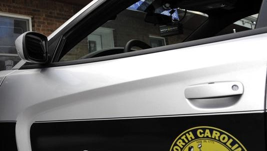 North Carolina State Highway Patrol car