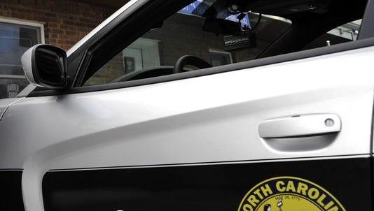 N.C. Highway Patrol car