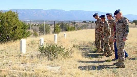 Fort Stanton State Veterans' Cemetery celebrate the 27th annual Veteran's Memorial Service and the 117th anniversary of the cemetery at 11 a.m. Saturday in Fort Stanton.