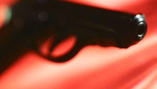 After a brief foot chase, officers from Wilmington Police's Uniform Services Division on Friday arrested a 16-year-old in possession of a loaded .380 semi-automatic handgun.