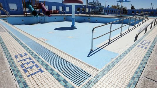 The Ascarate Park swimming pool will reopen Thursday.