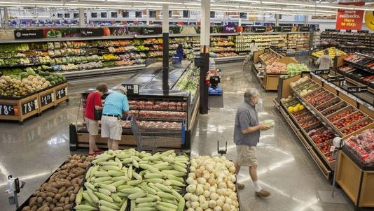 Walmart's new grocery section is easier to navigate and has a wider selection of produce and organics.