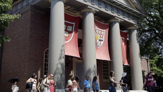 Harvard is the oldest university in the country, founded 375 years ago.