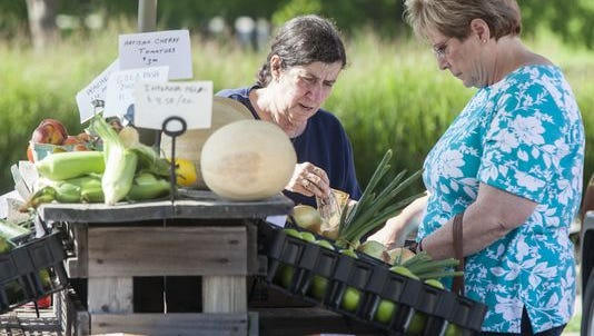 Yorktown Farmers Market is now being held every Wednesday from 4:30-7 p.m.