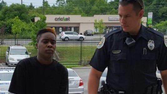 Shatara Jones, 25, was arrested May 29, 2016 on a criminal homicide charge.