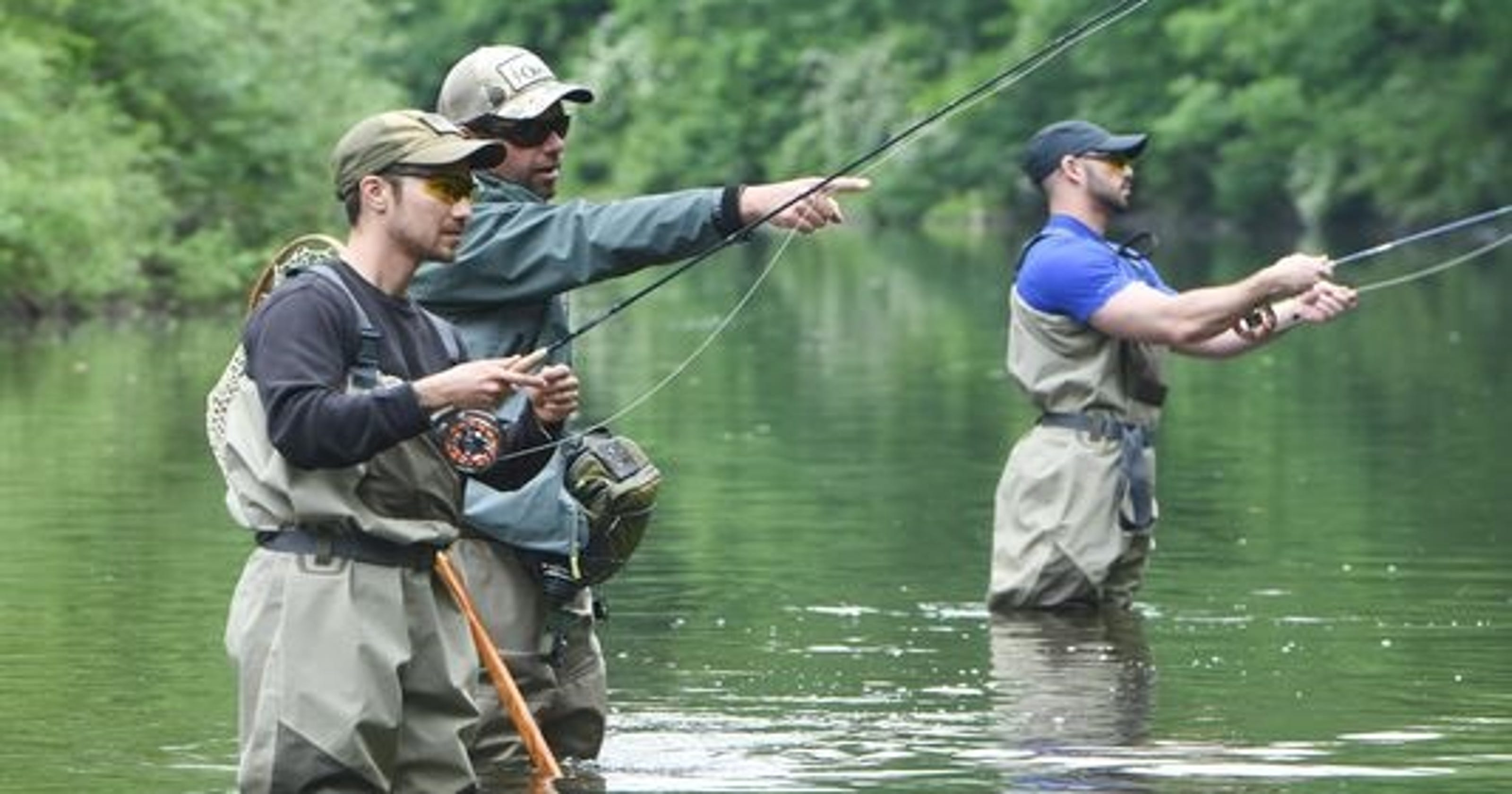 State to stock fishing streams, some sooner than others